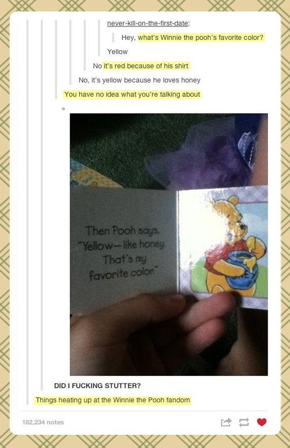 lol, winnie the pooh fandom