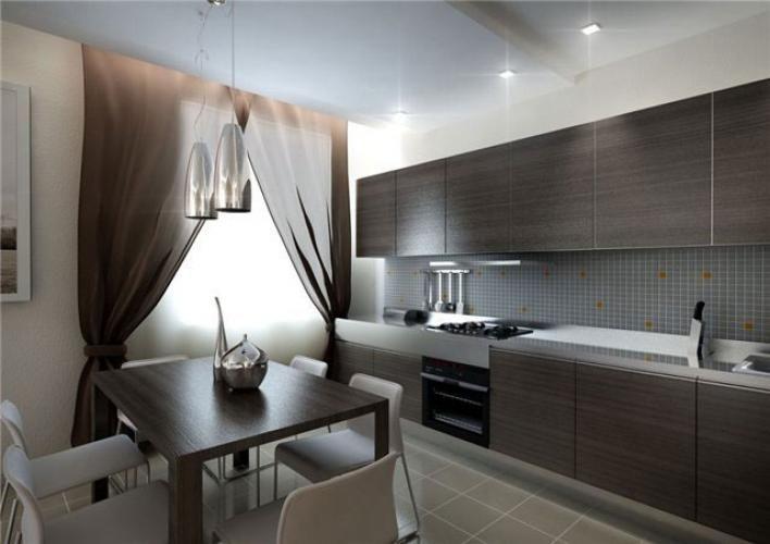 Дизайн интерьера кухни 14 кв. м: фото интерьеров