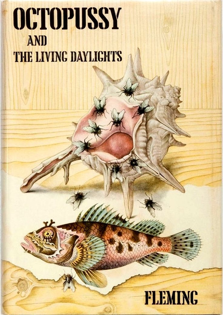 "Ian Fleming's ""Octopussy and The Living Daylights"", first edition (U.K.), Glidrose, published posthumously in 1966. Collection of short stories that originally included ""Octopussy"" (first published in October 1965) and ""The Living Daylights"" (February 1962).Subsequent editions also include ""The Property of a Lady"" (first published in November 1963) and ""007 in New York"" (October 1963)."