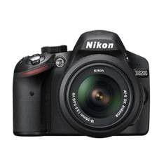 KIT CAMARA DIGITAL REFLEX NIKON D3200 NEGRO 24.2MP + AFS DX18-55G NO VR + ESTUCHE + LIBRO + TRIPODE