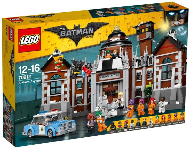 LEGO The Batman Movie 70912 : L'asile d'Arkham