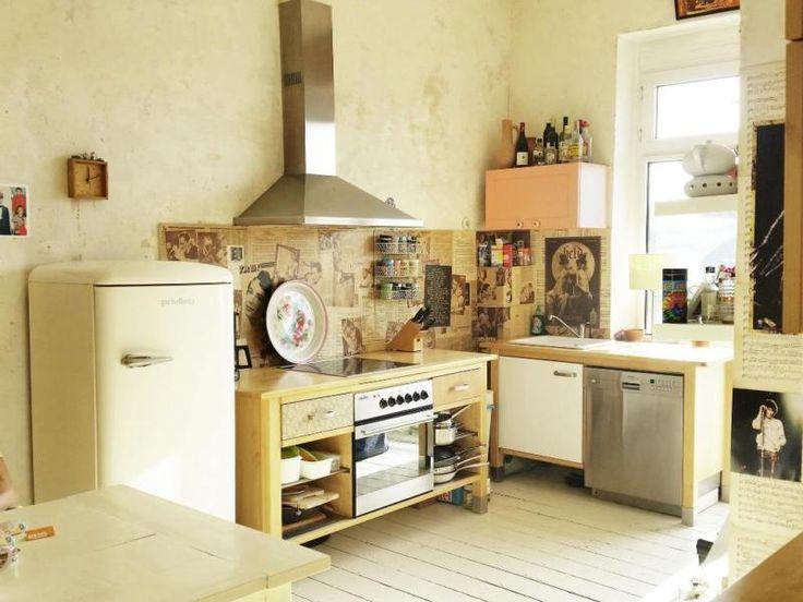 Ich muss mich leider von meiner geliebten VÄRDE Küche (IKEA) wegen Umzug trennen. In meiner neuen...,IKEA Värde Küche, 3 Module inkl. aller Geräte, Kühlschrank GRATIS in Düsseldorf - Bezirk 1