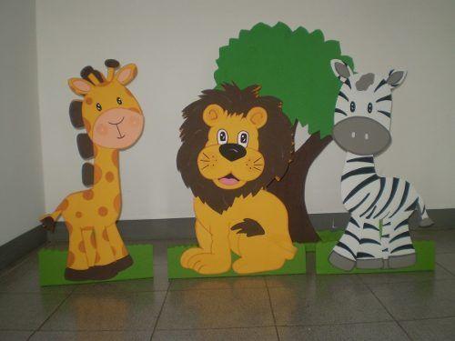 Como hacer figuras en foami para bebés - Imagui | Goma eva y ...