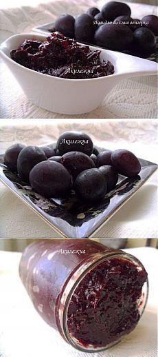 Кулинарные рецепты от Лики: Повидло из слив по-Закарпатски(без сахара)