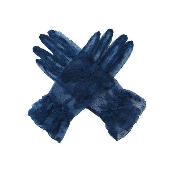 Amazon.com: SACAS Sexy Lace Gloves in Navy Dark Blue one size:... ($13) ❤ liked on Polyvore featuring accessories, gloves, navy gloves, lace gloves, sexy gloves and navy blue gloves