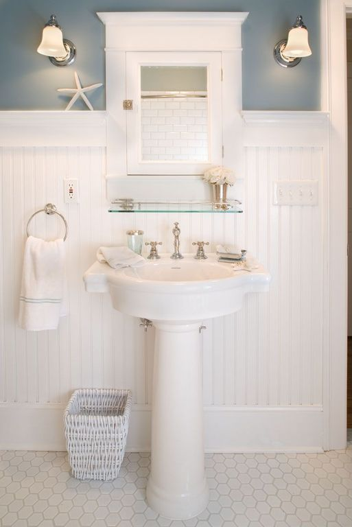 25 best ideas about paneling walls on pinterest for Cottage bathroom ideas renovate