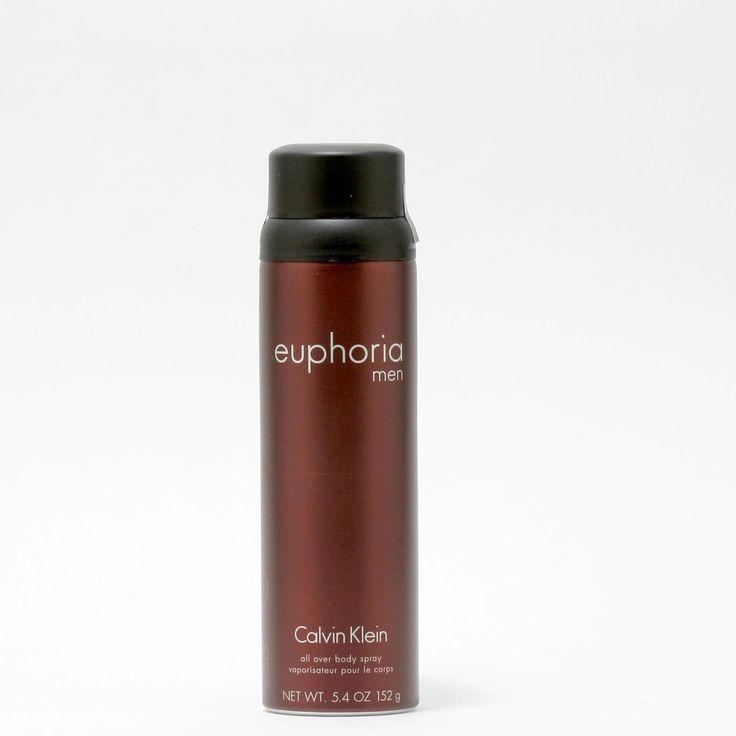 Euphoria Men By Calvin Klein- Body Spray 5.4 Oz