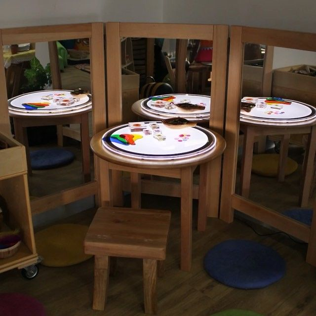 An individual Science & Discovery Station suitable for ages 3 and above. Light panels inspire children's exploration and encourage problem solving.