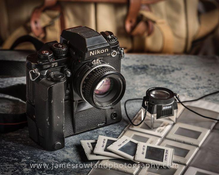 A modern classic, 1980s Nikon F3 and MD-4 motordrive. Nikon 50mm f1.8 lens. Prints available of this image via www.jamesrowlandphotography.com
