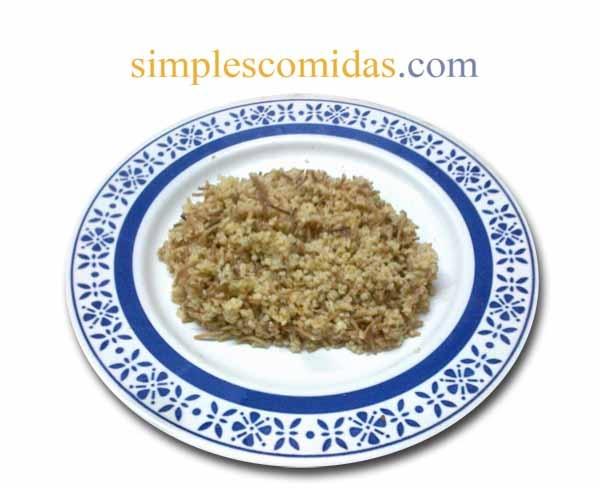 Pilav de trigo. Comidas faciles: Comida Armenia