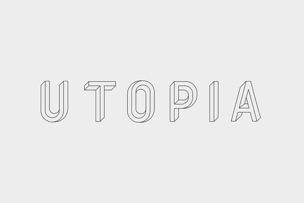 Utopia Utopie Typeface by RM