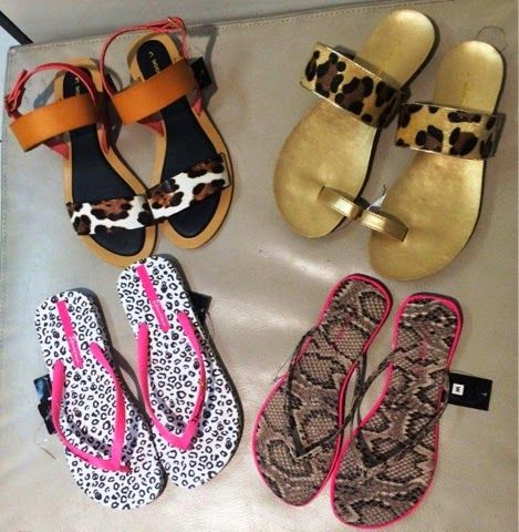 Fashionably Yours: Animal Print shoes and Sandals for everyone...Wool...