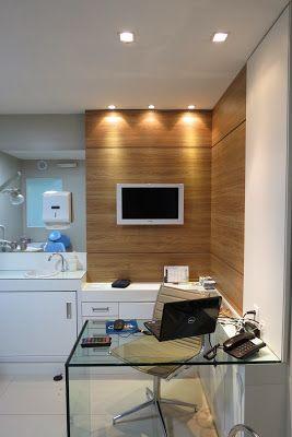 Este é um Projeto de Interiores para o consultório de avaliação de 9,00m² de uma Clínica Odontológica, em Canoas/RS.  A solicitação do clien...