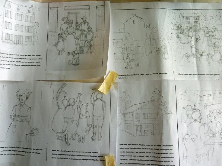 An Illustrators Process Envisioning A Picture Book Dummy