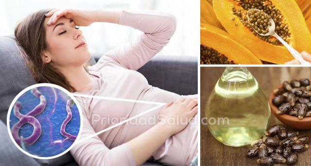 Los parásitos intestinales y las amebas son unos microorganismos que se alimentan de nuestro organismo para sobrevivir, por lo que pueden ser dañinos para la salud.\r\n\r\n[ad]\r\n\r\nA continuación, te mostramos algunos remedios caseros para expulsar los parásitos.\r\n\r\n\r\n\r\nLicuado de cebolla para eliminar amebas: corta una cebolla, ponla en medio vaso de agua y déjala reposar durante la noche. Licua y agrega un poco de miel. Verás resultados en un mes si lo consumes…