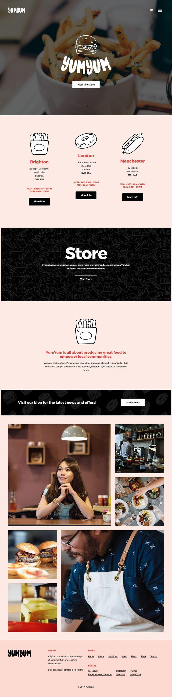 wedding invitation template themeforest%0A YumYum  Restaurant  u     Business WordPress Theme