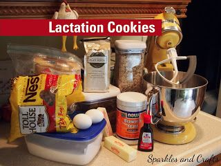 Sparkles and Crafts: Lactation Cookies