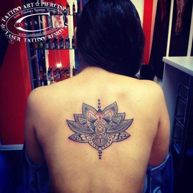 Oriental lotus flower tattoo artist arild flateb for Norwegian flower tattoo