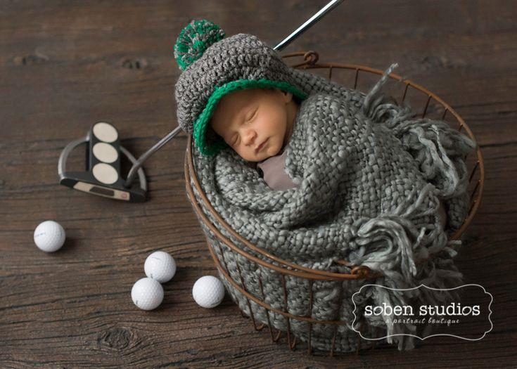 newborn photography, golf newborn portraits, chicagonewborn, sobenstudios, chicagonewbornphoto5
