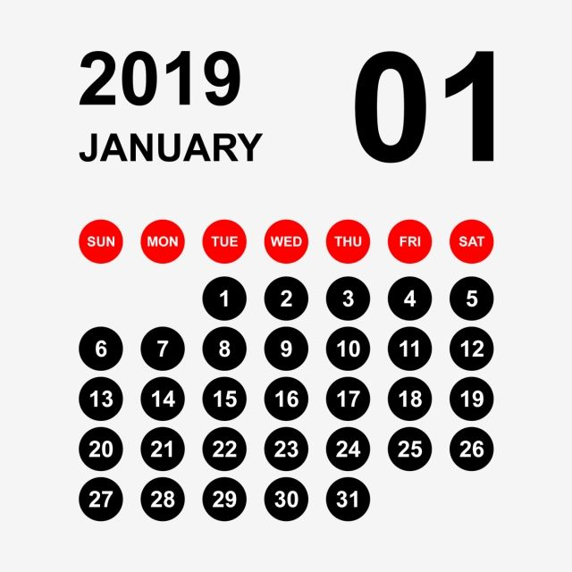 2019 Calendar January Calendar Calendar 2019 Calendar 2019 2019 Calendar January Calendar 2019 Png Transparent Clipart Image And Psd File For Free Download Printable Calendar Template Calendar Template Printable Calendar