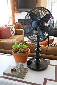 Lamp Fan DIY From Apartment Therapy Combine A Baseless With Base