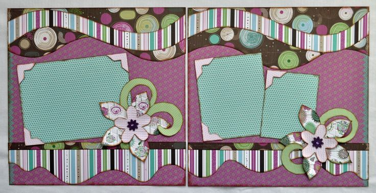 Kiwi lane template layout idea paper craft scrapbook ideen und scrapbook - Scrapbook ideen ...