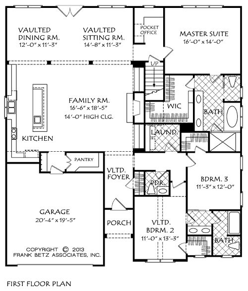 Teaching Kitchen Floor Plan 324 best floor plans images on pinterest | craftsman ranch, dream