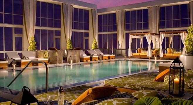 Indoor Pool sweet!