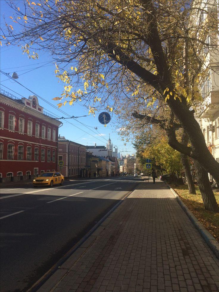 Старые дома недалеко от Рогожской заставы