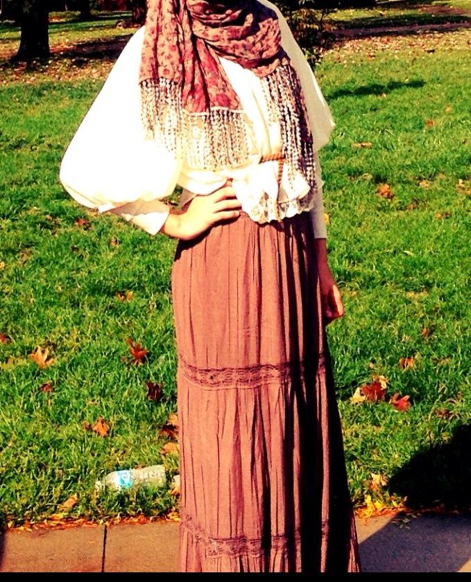 Fall hijab fashion<3
