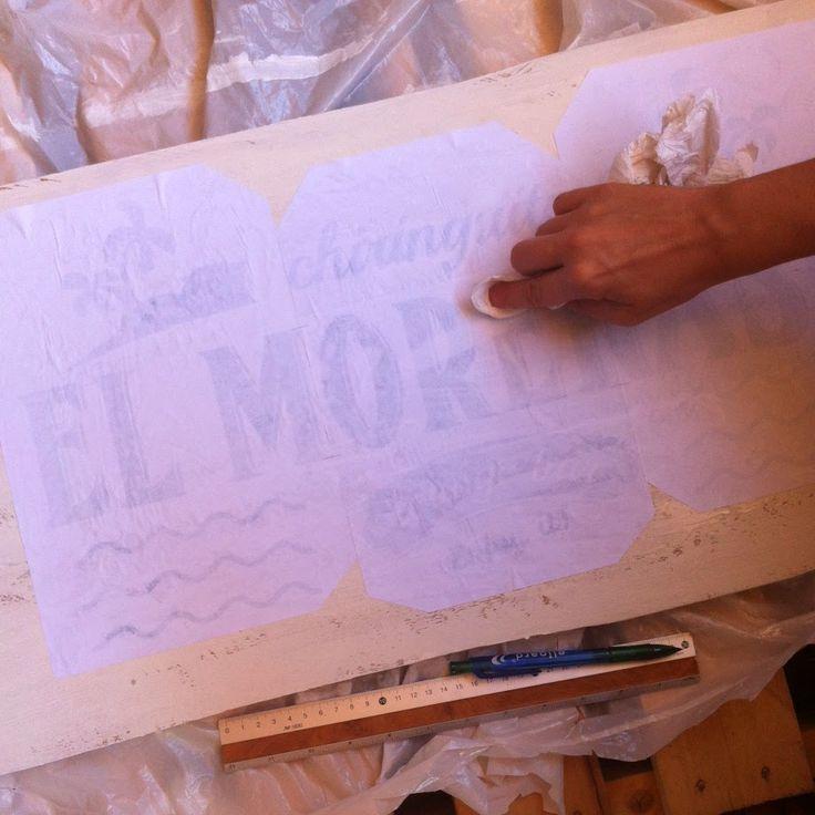 La curiosidad que no mató al GATO!: Como hacer un cartel vintage en madera