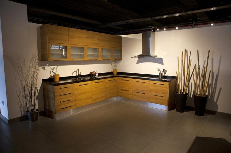 Modelos de cocina con puerta iba eta teka de for Modelos de muebles