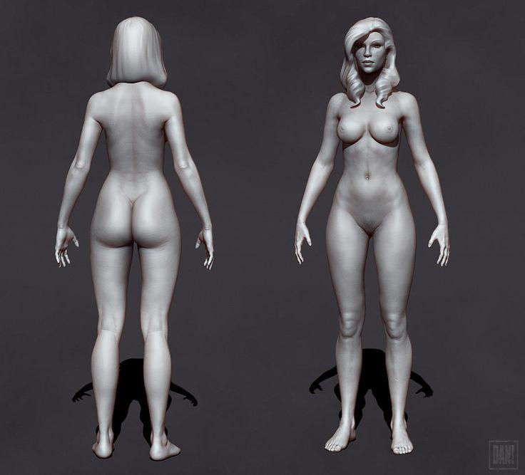 Body sculpt, Dan Pingston on ArtStation at https://www.artstation.com/artwork/body-sculpt