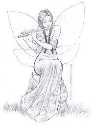 Fee spielt Flöte