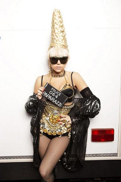Lady Gaga Hair Style Paparazzi #YarisLadyGaga