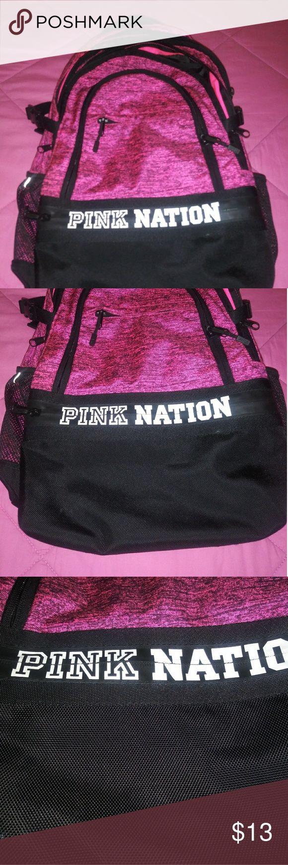 Victoria Secret Pink Campus Backpack In pre-loved …