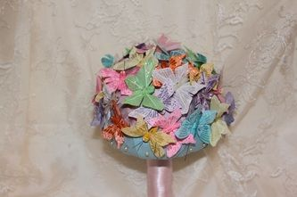 Butterfly Bouquets - Forever button bouquets