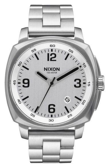 NIXON MEN'S NIXON CHARGER BRACELET WATCH, 42MM. #nixon #