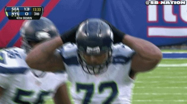 Seahawks' Michael Bennett Breaks out an Interesting Sack Dance