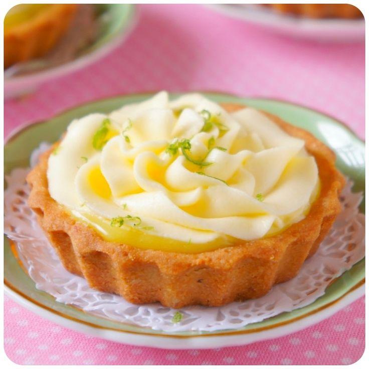 Tortinhas de Lemon Curd | Vídeos e Receitas de Sobremesas