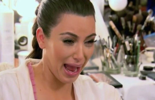 15 Times Kim Kardashian Has Cried On Camera- I'm sorry but this is funny