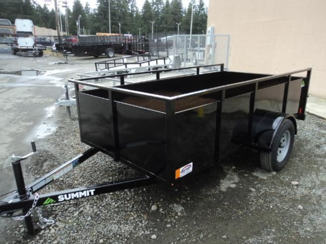 2017 Summit Alpine 5X8 Single Axle w/Swing Gate Utility Trailer