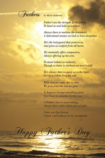 Father Poetry – Father Poems Poems About Fathers Dads