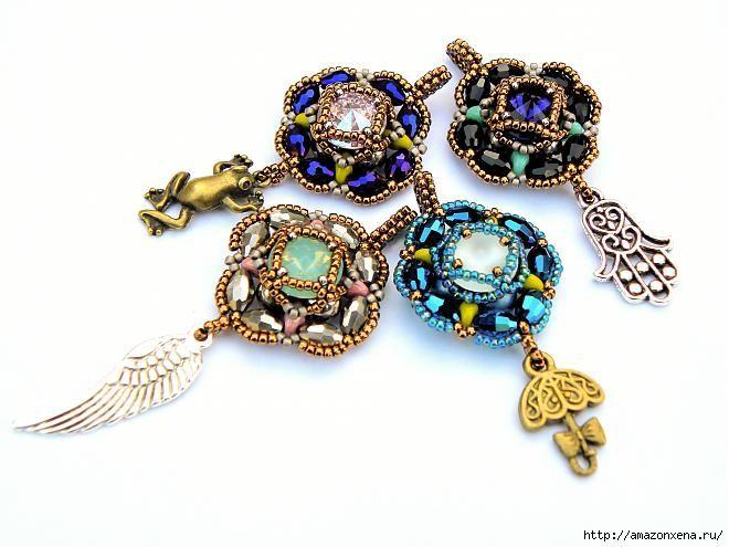 * rivoli pendant free pattern.. not in english