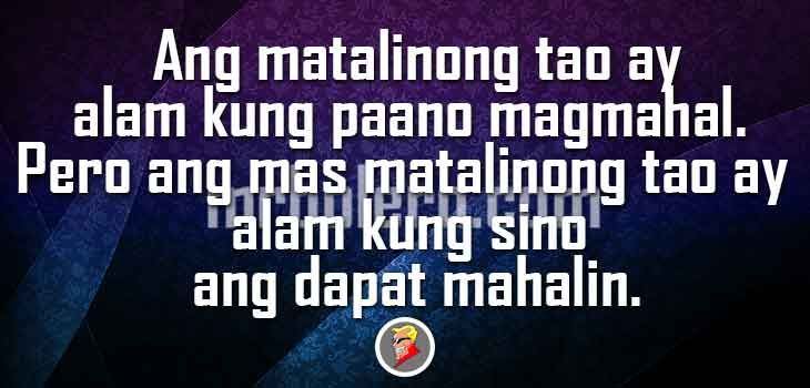 25 best tagalog quotes on pinterest beautiful words