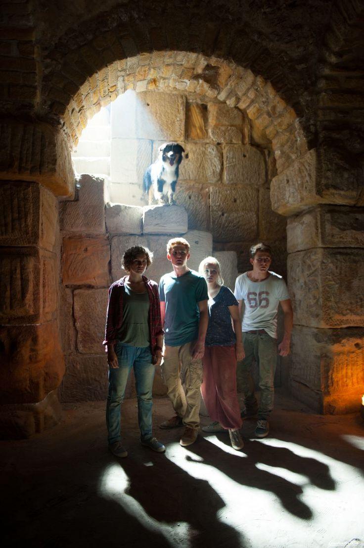 Was haben die Fünf Freunde in der mysteriösen Grabkammer entdeckt? © 2014 Constantin Film Verleih GmbH