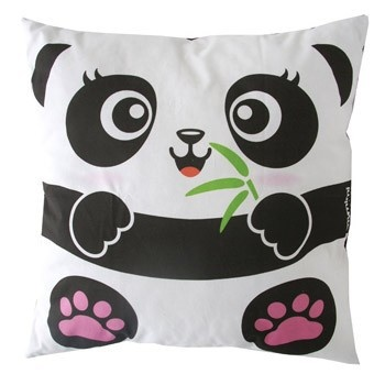 Cute Panda Pillow : Po?et nejlep?ich obrazk? na tema Sewing - Cute :) and Kawaii >.