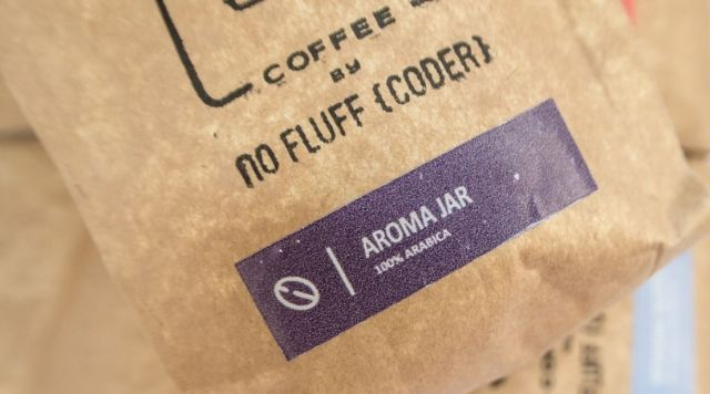 Aroma Jar Coffee. 100% arabica. Perfect as a gift for code&coffee lover. Available now at our on-line store with other Unique products for whole IT Family.