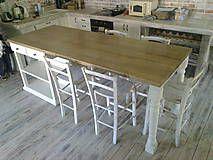 Nábytok - Pracovný stôl alebo ostrovček do kuchyne - 5351410_