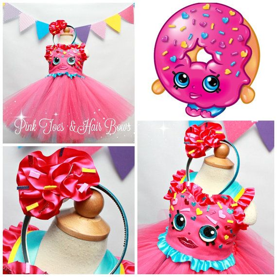 Shopkins tutu dress shopkins costume shopkins by GlitterMeBaby